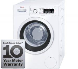 Test af vaskemaskine